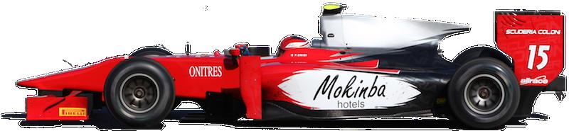 Mokinba Hotels - sponsor ufficiale in Gp2